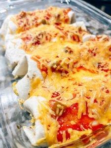 A Healthier Twist on Chicken Enchiladas